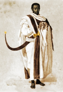 A 19th Century nobleman of Ethiopia -- the population most impacted by the backflow