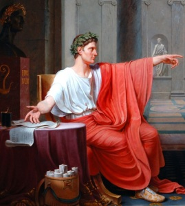Octavian, known as Caesar and Augustus, Rome's first emperor